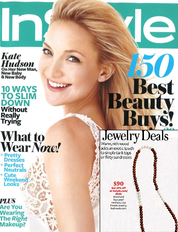 Lisa Freede's Cuban Necklace is Featured in Instyle Magazine as one of the Best Jewelry Deals of the Year